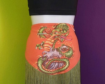 Dawn of the Dragon bellydance festival hipscarf belt