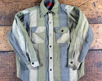 Vintage CPO Anchor button Kings Road Shirt Jacket