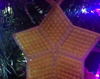 Christmas Tree Decorations  //  Yellow Star  //  Christmas Tree Star
