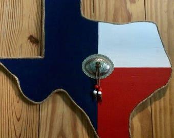 Texas shaped wall decor