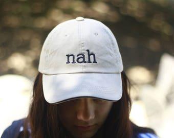 Nah Khaki Baseball Cap