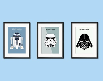 Star Wars, Darth Vader, RDD2, The Empire Strikes Back, Return of the Jedi