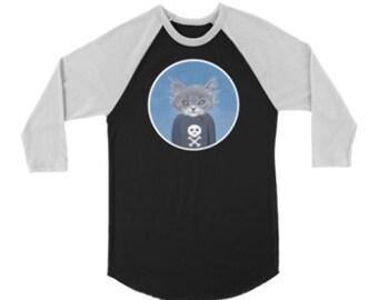 Henry Chiller Shirt - Super Soft Jersey Style Baseball Raglan 3/4 Sleeve