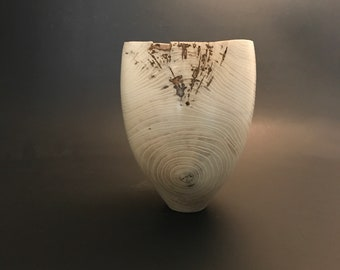 White hackberry  vase
