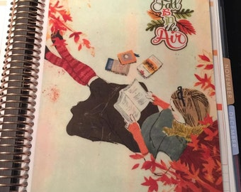 DASHBOARD *Fall is in the Air* for use with Erin Condren or Happy Planner