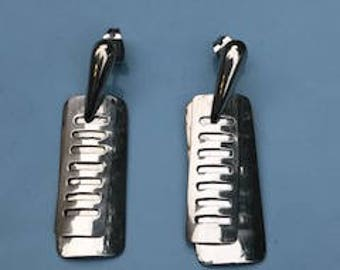 Sterling Silver 925 EARRING  Two pieces  set on each side