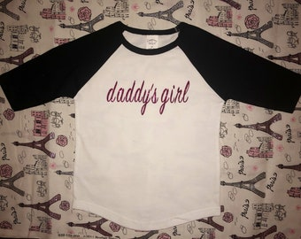 Daddy's Girl Baseball T-Shirt