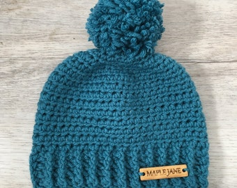 Baby Ribbed Beanie