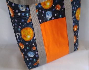 Kid busy bags outer space