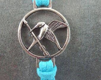 Hunger Games blue bracelet