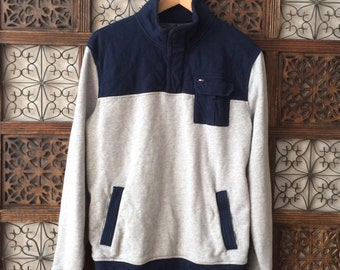 Tommy Hilfiger quarter zip sweater size Large