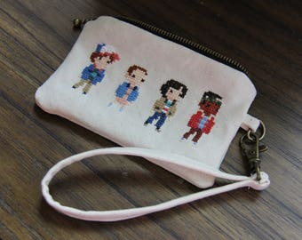 Stranger Things Wristlet Bag