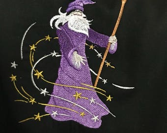 Wizard cooking apron