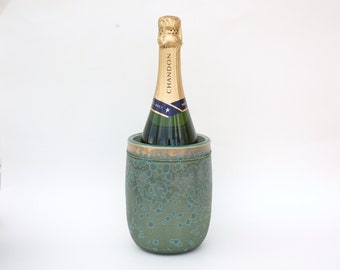 Utensil Holder/Wine Holder in Aqua