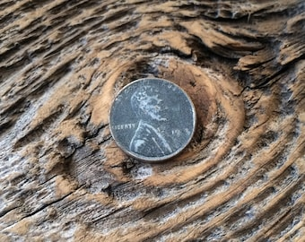 USA coin 1943 Lincoln Cent Wartime Iron 4 missing in 1943 Stamping defect 1 cent mint error Steel WW2 Wheat Penny