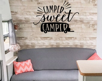 Wall Sticker - Camper sweet camper