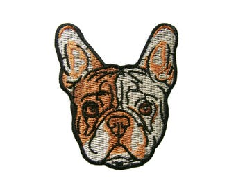 Dog Patches Handmade Gift Applique Embroidered Iron on Patch
