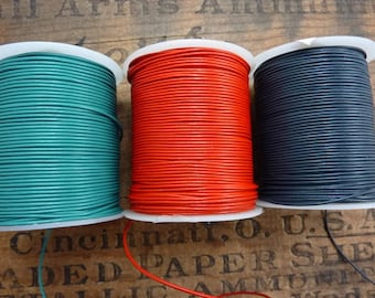 1mm Leather Cord Quality 3 Colors Available