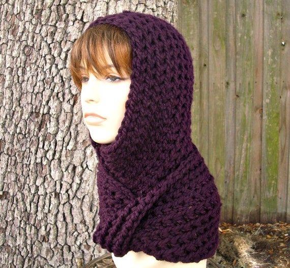 Instant Download Crochet Pattern - Crochet Hat Pattern for Gretel Wrap Hood Pattern - Womens Hat Pattern - Womens Accessories