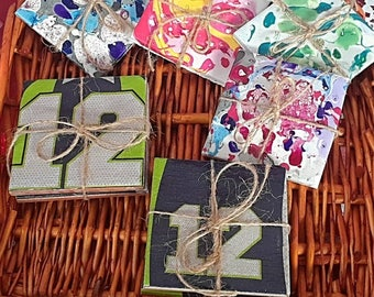 Seahawks Coasters gift set of 2