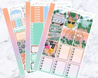Sunset Festival Essentials Sticker Kit
