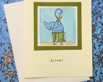 """Hula Burd~ """"Aloha!"""""""