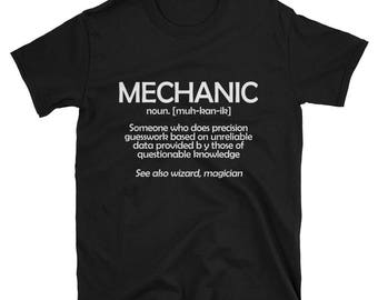 Mechanic Definition T-Shirt