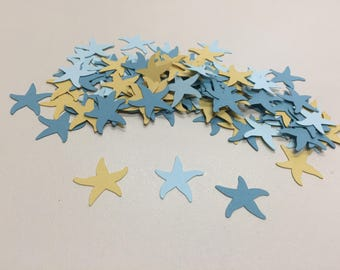 Seashell Confetti, Starfish die cuts, Summer Decoration, Summer Wedding Confetti, Seashell die cuts, Babyshower decoration