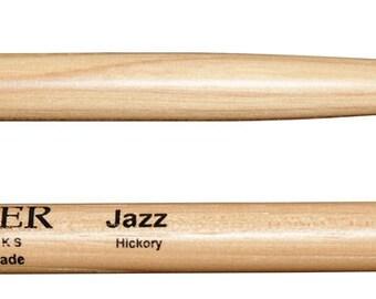 Agner Drumsticks Jazz Hickory