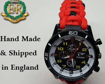 Royal Military Police Paracord Watch