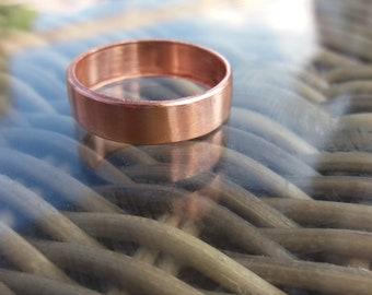 Hand made copper ring good for arthritis