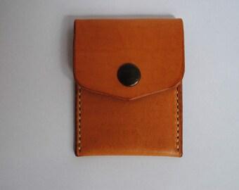 Leather purse Handmade