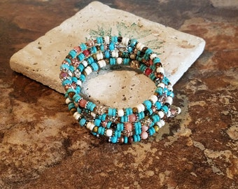 Turquoise and Daises