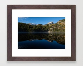 Colorado Mountain Art Large Wall Decor Living Room, Landscape Photography Large Prints Bedroom, Rocky Mountain National Park