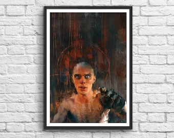 Art-Poster 50 x 70 cm -  Mad Max - Witness