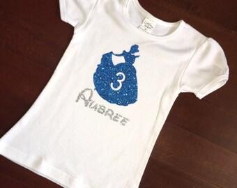 Cinderella Birthday Shirt, disney princess birthday shirts, Disney Birthday, Princess Birthday