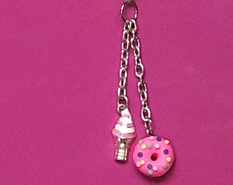 Sweet Treats Travelers Notebook Planner Dangle with Charms