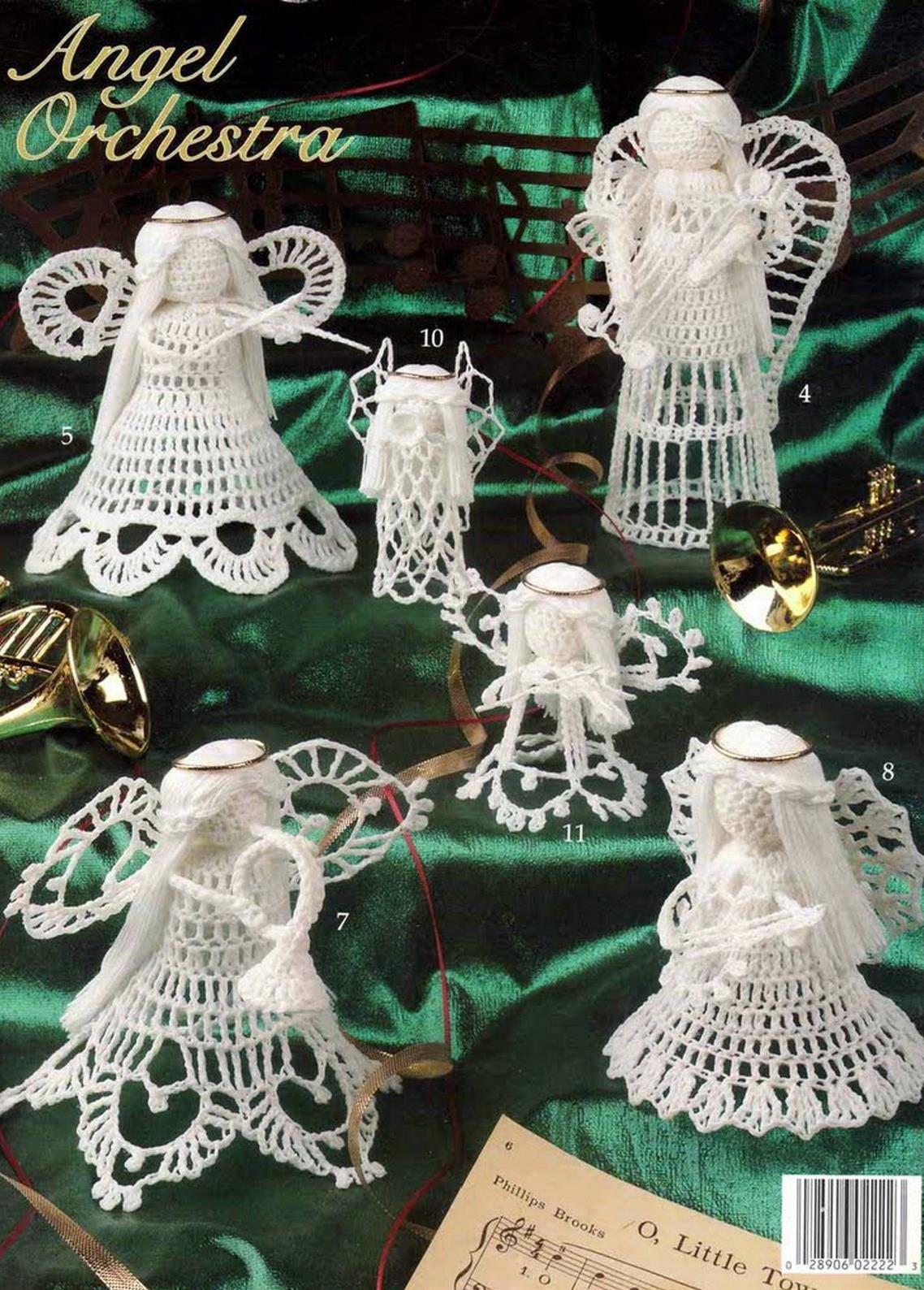 Angels Orchestra Crochet Lace Pattern Crochet Angels Little Angels