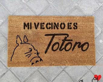 """Doormat """"My neighbor is Totoo"""""""