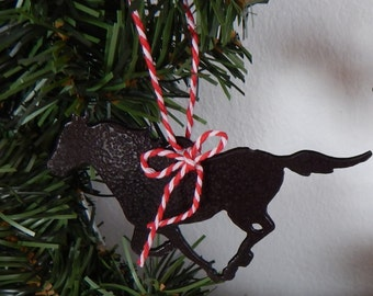 horse,Christmas tree ornament,horse gift tag,western, Christmas Ornament,Simple Christmas Ornament,Western decor,horse,cowboy Christmas,