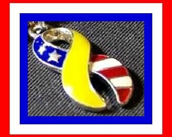 USA Flag Awareness Charm - SALE