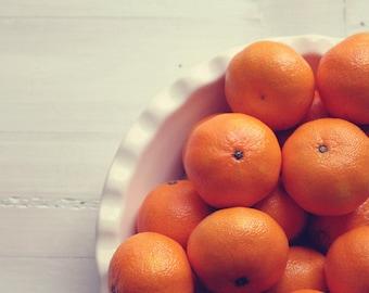 kitchen art food photography: clementines  Fine Art Food Photography Macro Fruit Kitchen Art fruit still life fruit wall decor orange