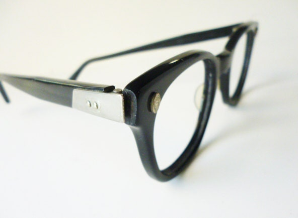 1950\'s Fendall Plastic frames with unusual temple