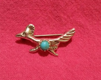 Road Runner Brooch