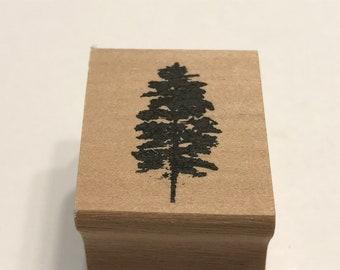 Small Tree stamp, 25 mm tall (BB1/5)