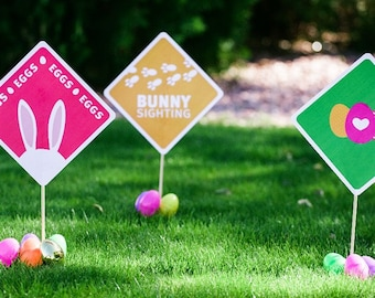 Easter Egg Hunt Yard Signs