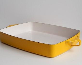 1970s Dansk Sun Gold Roasting Pan Kobenstyle / Dansk Designs France 1HQ