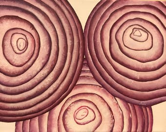 Onions- Oil on Canvas