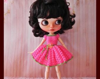 Dress for Blythe & Pullip dolls