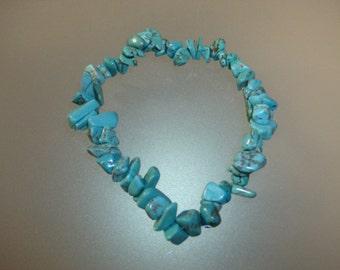 Baroque bracelet in turquoise